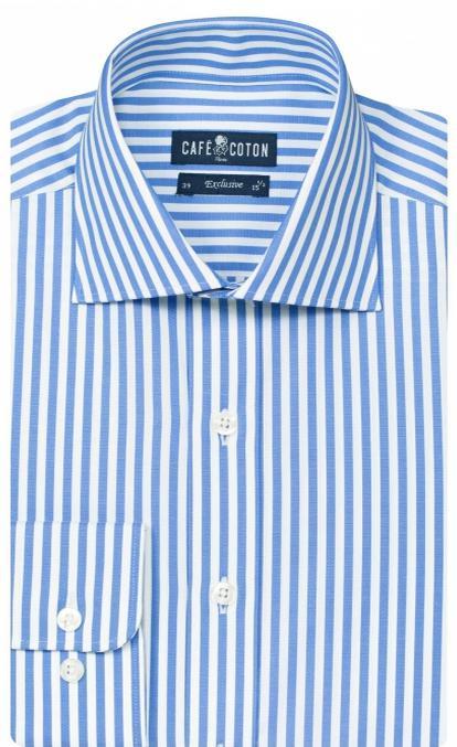 """3 Chemises en coton coupe droite ou cintrée de la gamme """"Exclusive"""""""
