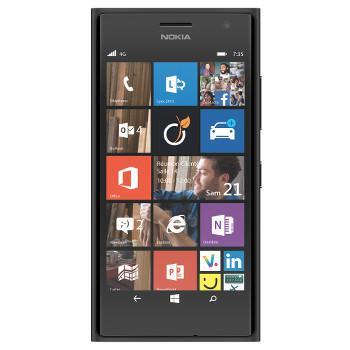"""Smartphone 4.7"""" Nokia Lumia 735 - 8Go - Noir"""