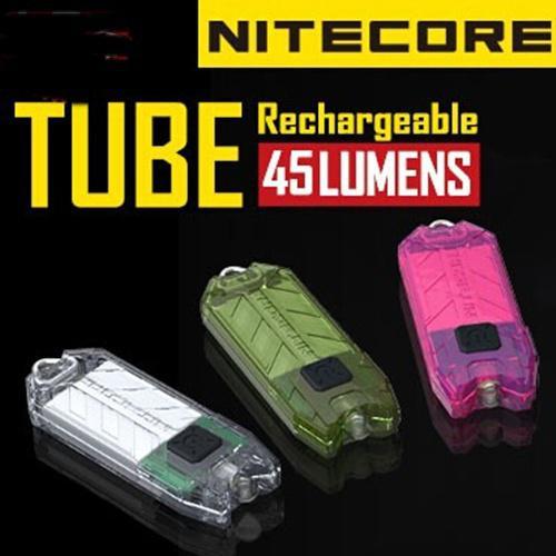 Lampe de poche Nitecore T Series Tube 45 LM USB rechargable