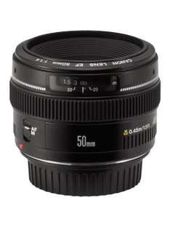 Objectif Canon 50 mm f/1.4 USM (avec ODR 50€)