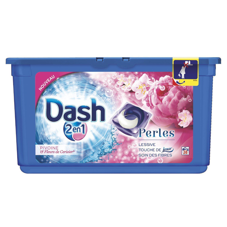 Lessive Dash 2en1 - 30 Lavages (via 8.05€ sur carte Waaoh + BDR)
