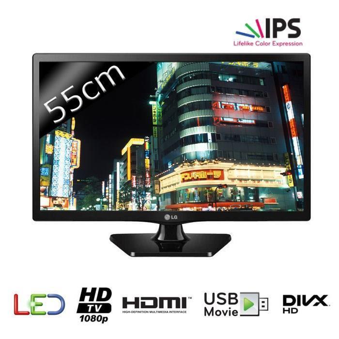 """Sélection de produits jusqu'à 200% remboursés (en 2 bons d'achat sans minimum) - Ex : Moniteur TV 21.5""""  LG 22MT47D"""