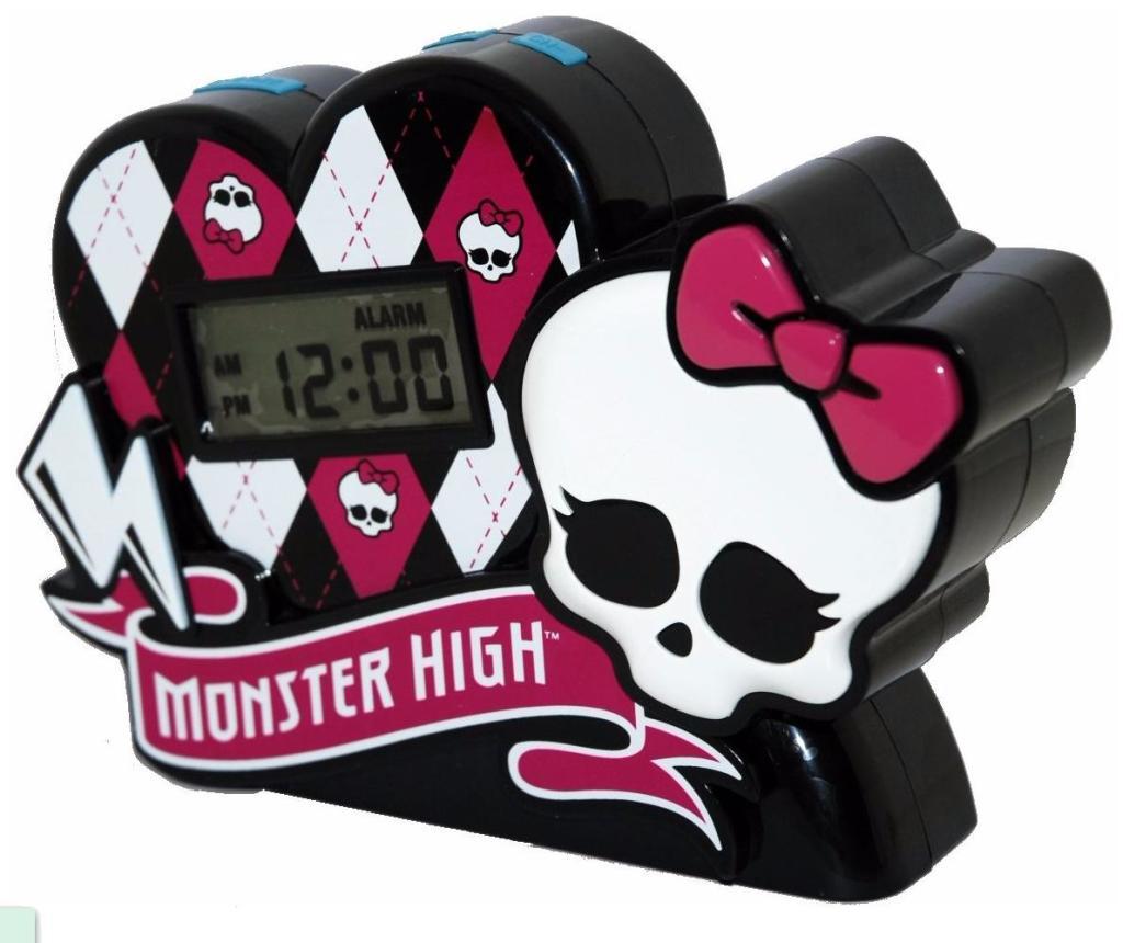 radio réveil Tech Training Monster High