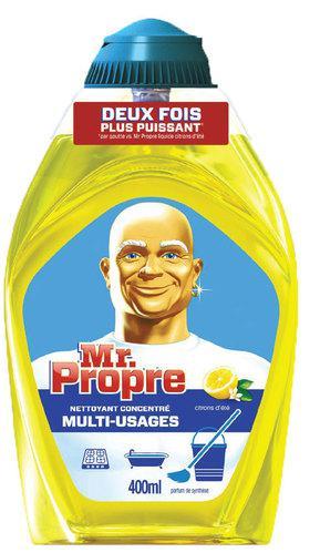 Gel nettoyant ménager Mr Propre concentré (via BDR de 0,80€)