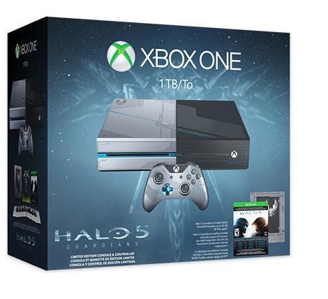 [Adhérents] Précommande : Console Microsoft Xbox One Édition Limitée 1 To + Halo 5 Guardians
