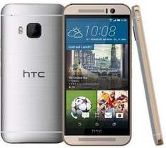 "Smartphone 5"" HTC One (M9) 32 Go Or sur argent"