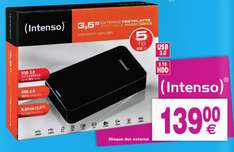 """Disque dur externe 3.5"""" Intenso Memory Center 5 To"""