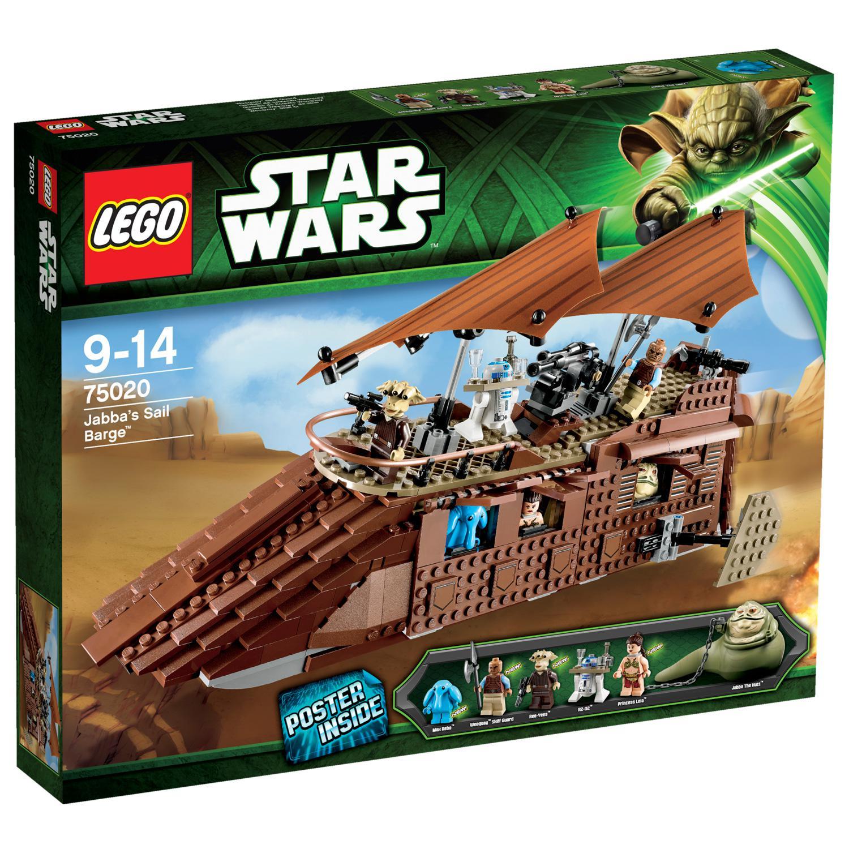 Sélection de 2700 jouets à prix coûtant - Ex : Lego 75020 Star Wars : Jabba's Sail Barge