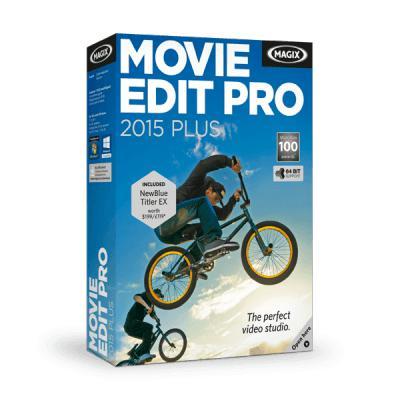 Logiciel Magix Movie Edit Pro 2015 Plus