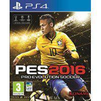 Jeu PES 2016 offert pour l'achat d'un pack PS4 parmi une sélection