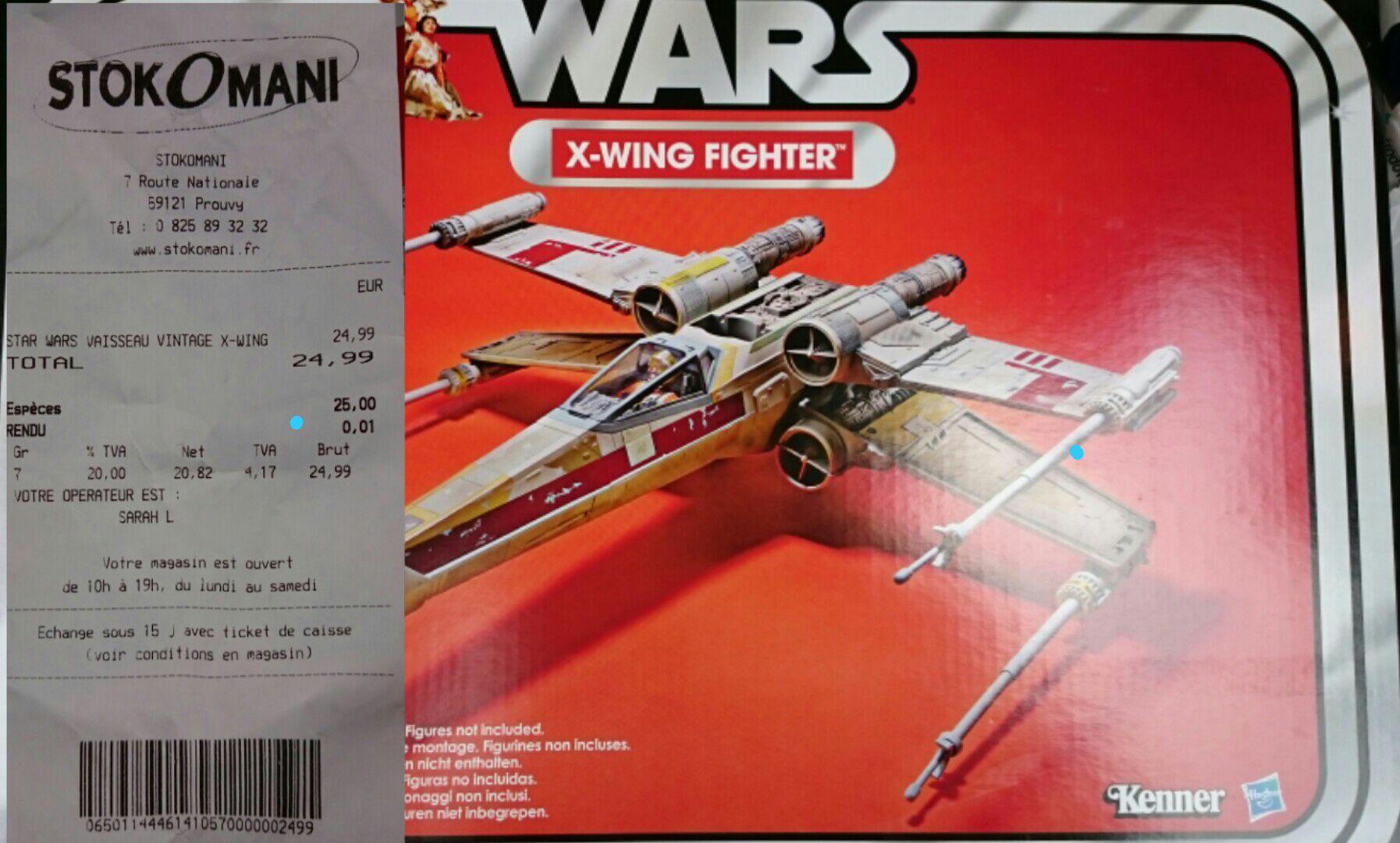 Vaisseau Star Wars X-wing Fighter