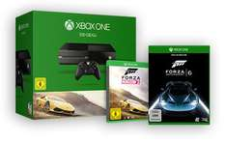 Pack Console Xbox One 500Go avec Forza Horizon 2 et Forza Motorsport 6