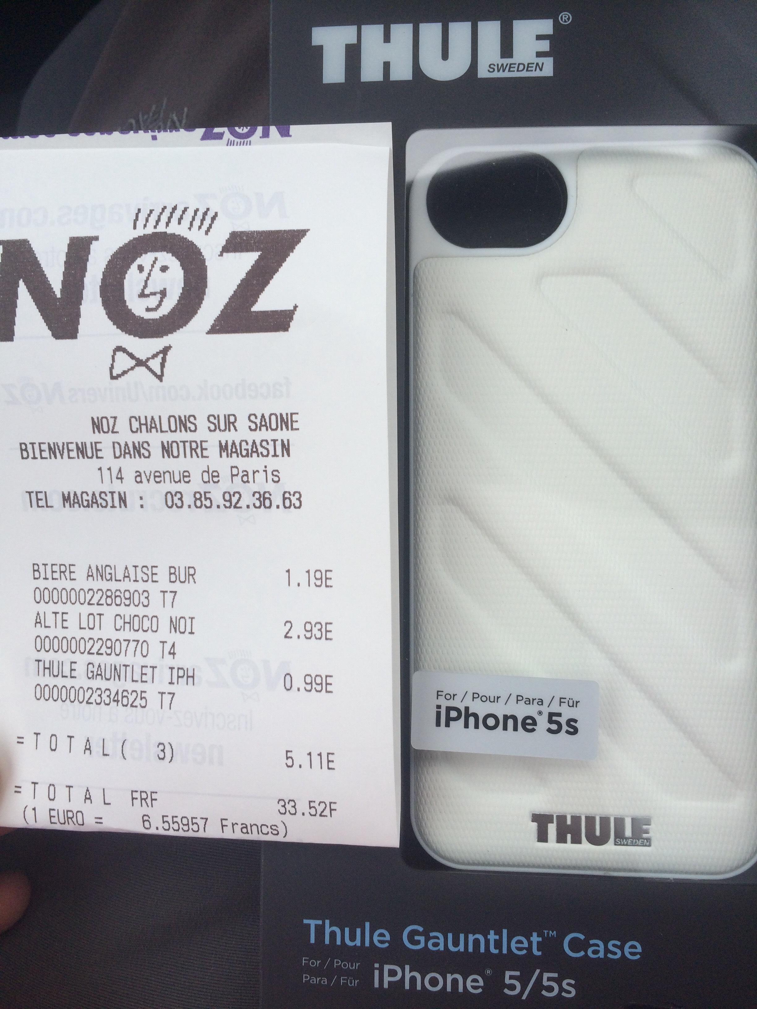 Coque Thule pour IPhone 5/5S