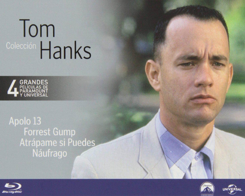 Coffret Blu-ray Tom Hanks 4 films (Apollo 13, Forrest Gump, Arrête-moi si tu peux et Seul au monde)