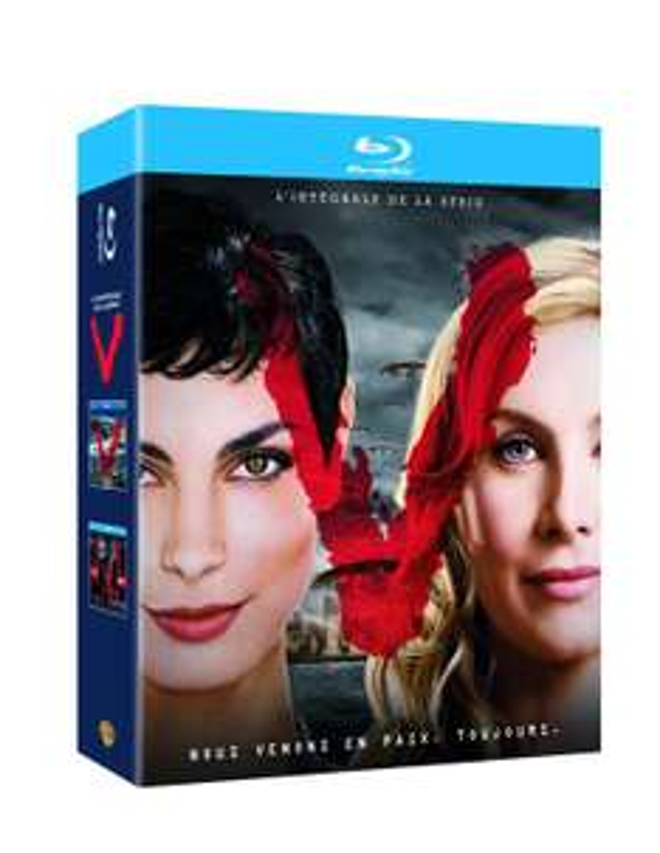 Sélection de Blu-ray en promo - Ex : L'intégrale de V (Coffret Blu-ray+ T-shirt)