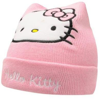 Bonnet Hello Kitty pour filles