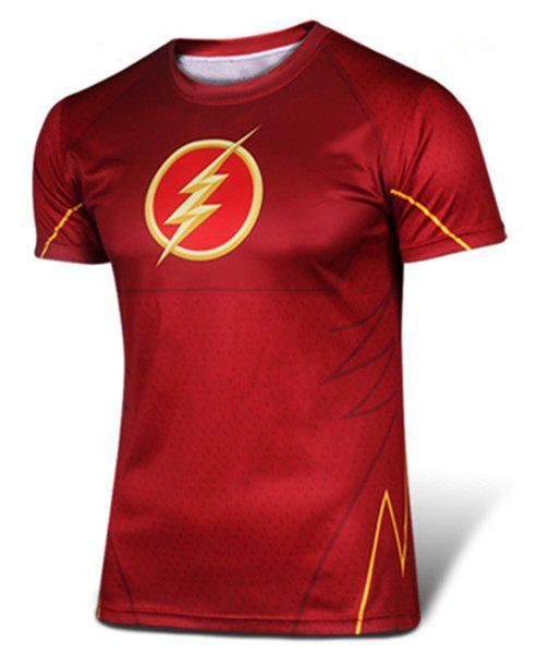 Sélection de Tshirt Super Heros - Ex : Tshirt Flash