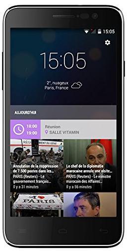 "Smartphone 5"" Vitamin A - Quadri-cœur 1,5 GHz - Double SIM - 8Go - 4G"