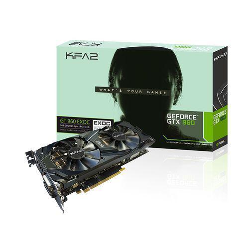 Carte Graphique KFA2GeForce GTX 960 EXOC 2 Go