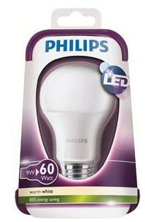 Ampoule Led Philips E27 9W équivalent 60W (10.85€ sur la carte)