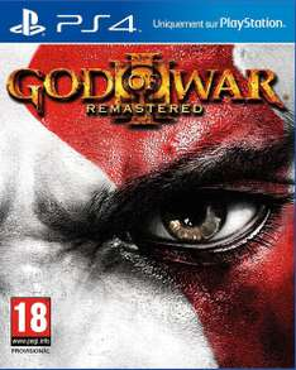 God Of War 3 HD Remastered sur PS4