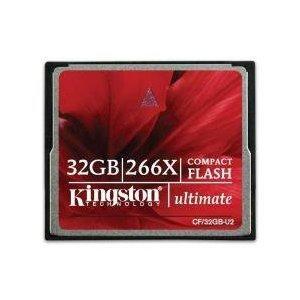 Carte mémoire Compact Flash - Kingston Ultimate - 266x - 32 Go