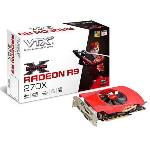 Carte graphique VTX3D Radeon R9 270X X-Edition 2 Go + Dirt Rally