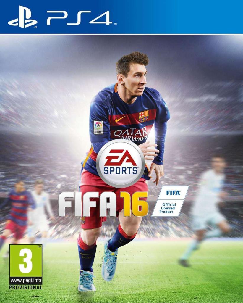 FIFA 16 sur PS4 et XBOX One