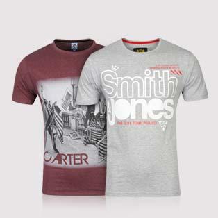 2 T-Shirts de marque (Reebok, Nike...)