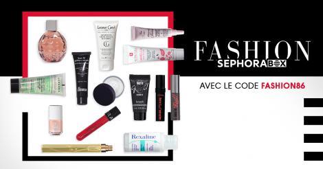 Sephora box (14 mini-produits) offerte + Livraison gratuite dès 80€ d'achat