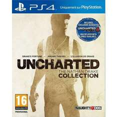 Précommnande : Uncharted The Nathan Drake Collection sur PS4 + DLC bonus + Bague