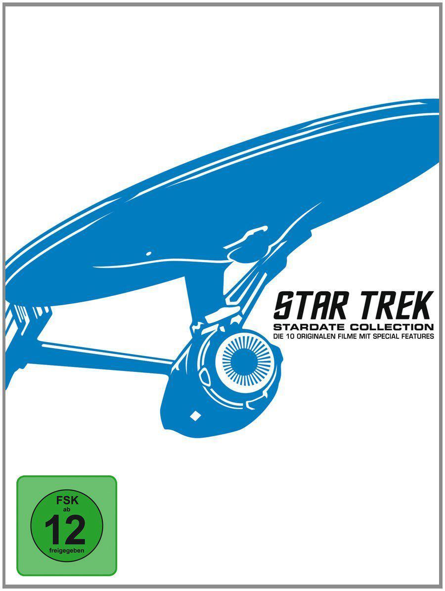 Coffret Blu ray Star Trek I-X (import Allemand)
