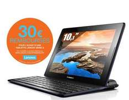 Tablette 10.1'' Lenovo A10-70 + Clavier bluetooth (30€ ODR)