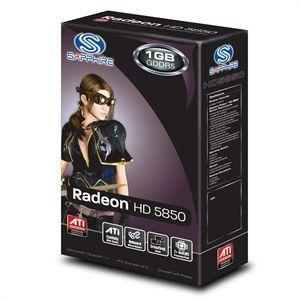Carte graphique Sapphire ATI Radeon HD5850 1Go - reconditionné