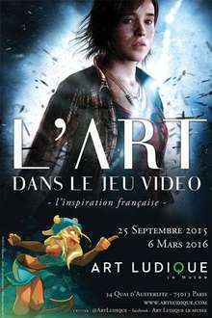 """Entrée pour l'exposition """"L'art dans le jeu vidéo"""" au Musée Art Ludique"""