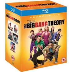 Coffret Blu-ray The Big Bang Theory - Saisons 1 à 5,