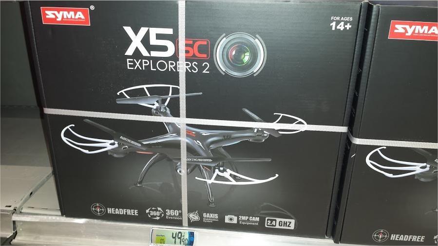 Quadricopter syma x5sc explorer 2