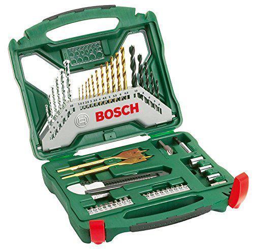 Coffret de vissage et perçage X-line Bosch - 50 pièces