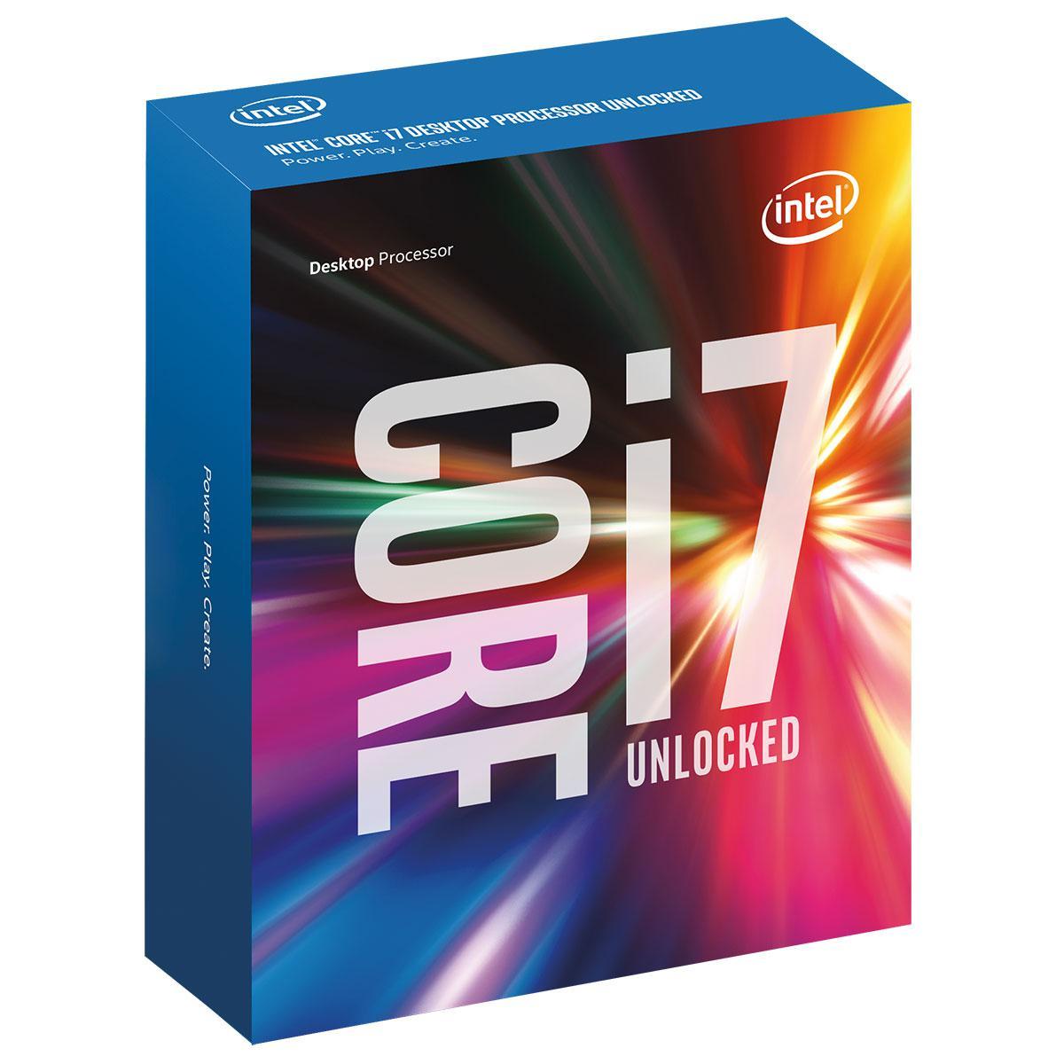 Processeur Intel Skylake Core i7 6700K 4 GHz Socket 1151