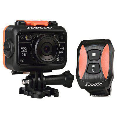 Caméra Sportive Soocoo S70 Generation 4 16 Mpx (2K/30fps, 1080p/60fps) + Montre pour la contrôler