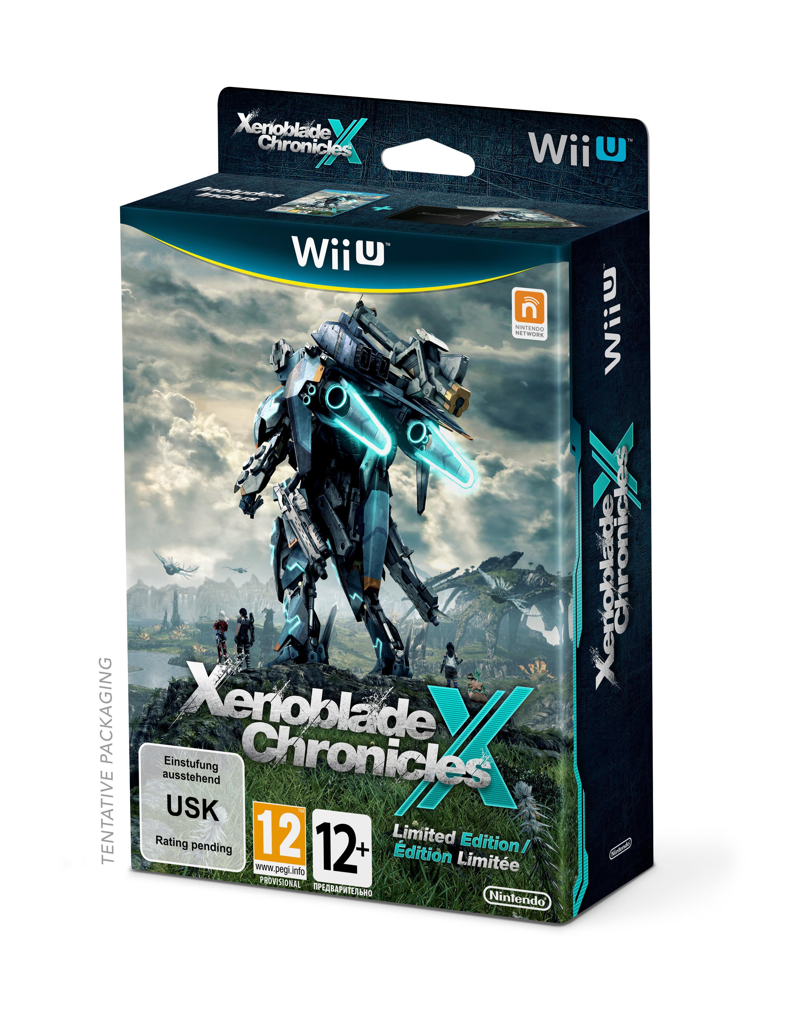 Précommande: Xenoblade Chronicles X - Edition Collector sur Wii U