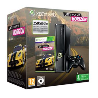 Console Xbox 360 250 Go Microsoft + Forza Horizon