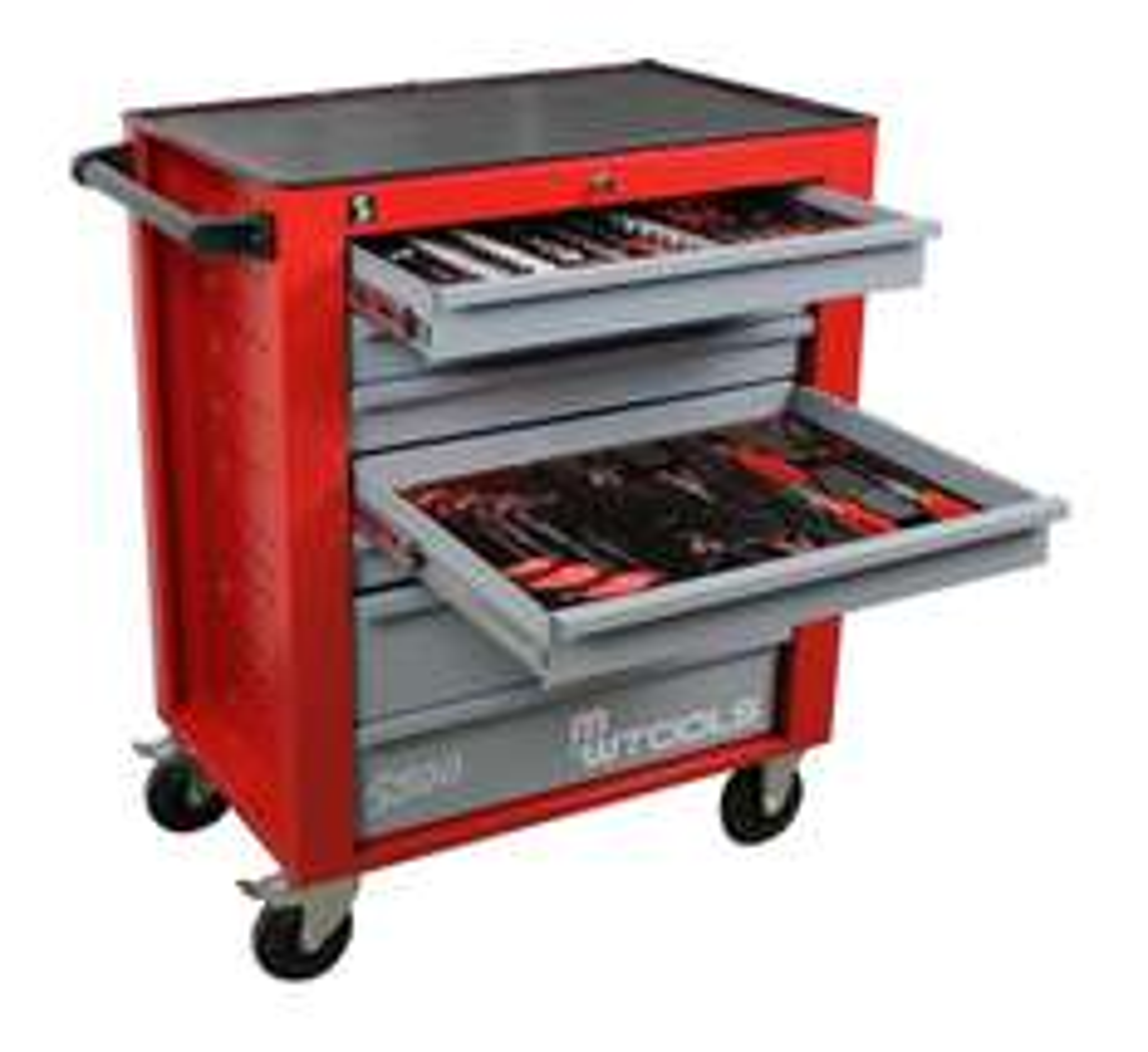 Servante d'atelier coplète MW-Tools 397 pièces