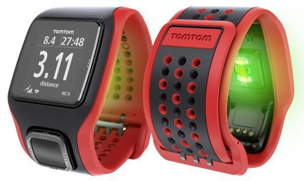 Montre TomTom GPS Runner Cardio avec cardio-fréquencemètre (3 coloris)