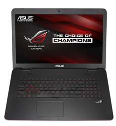 "PC portable 17.3"" Asus ROG G741JW-T7151H (Intel i5 4200H, 8 Go RAM, 1 To, GeForce GTX960M)"