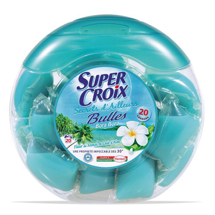Lessive Super Croix 20 capsules