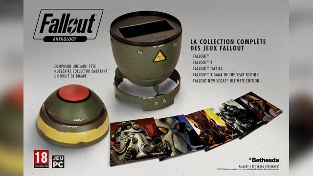 Jeux Fallout Anthology l'intégral sur PC