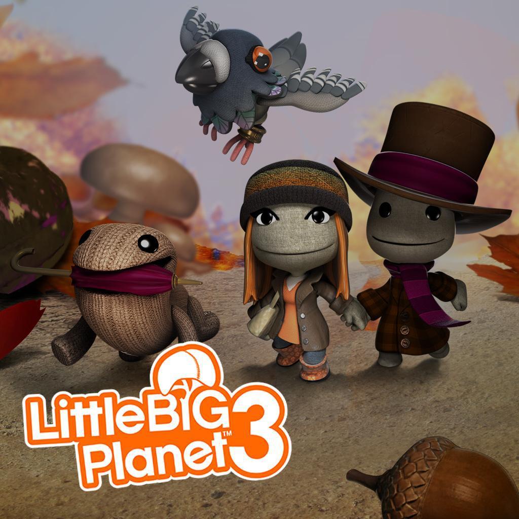 Thème automne LittleBigPlanet gratuit sur PS4/PS3