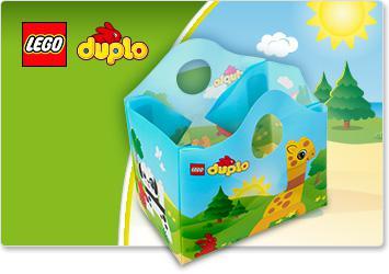 Sac de rangement Lego Duplo offert pour tout achat d'un produit Lego en ligne et en magasin