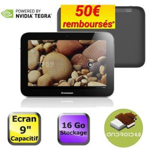 "Tablette Tegra 3 (quad core) Lenovo Ideatab 9"" avec ODR (50€)"